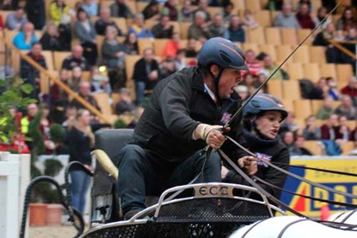 Ponymensport in de picture in Schwerin